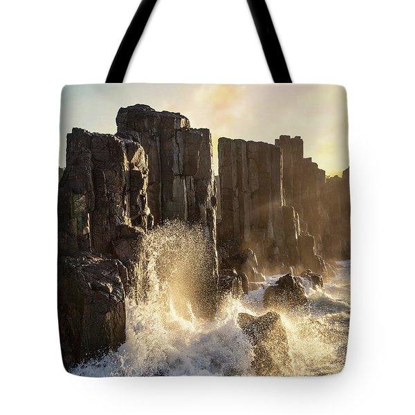 Wave Force Tote Bag