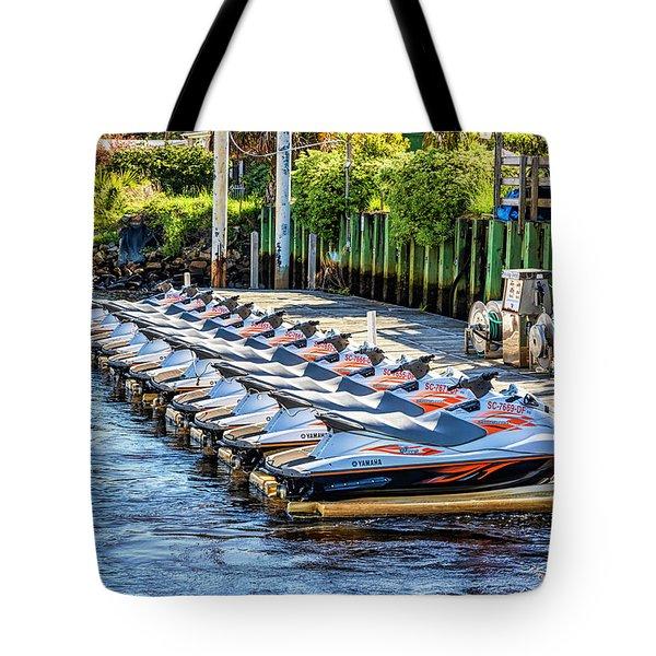 Waverunners Tote Bag