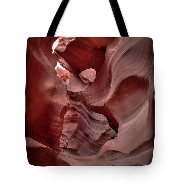 Waves And Curls Tote Bag