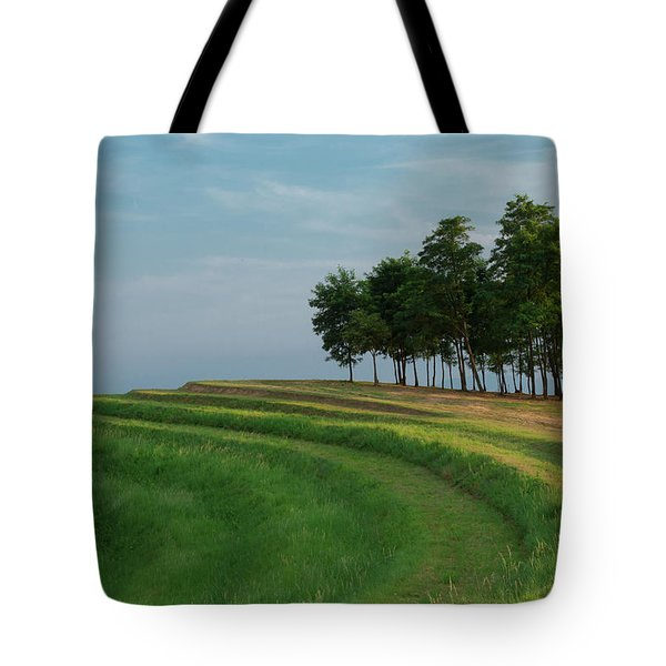 Tote Bag featuring the photograph Waves Of Grass by Davor Zerjav