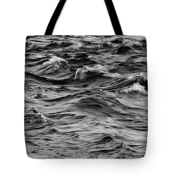 Waves On The Delaware Tote Bag