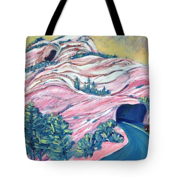 Wavy Rocks Tote Bag