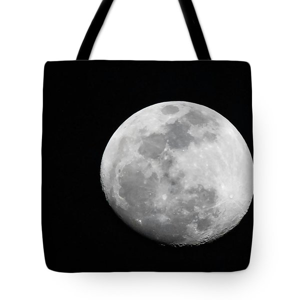 Tote Bag featuring the photograph Waxing Gibbous by Thomas Kallmeyer