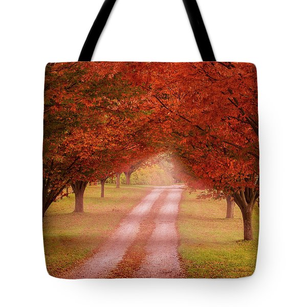 Way To The Farm Tote Bag