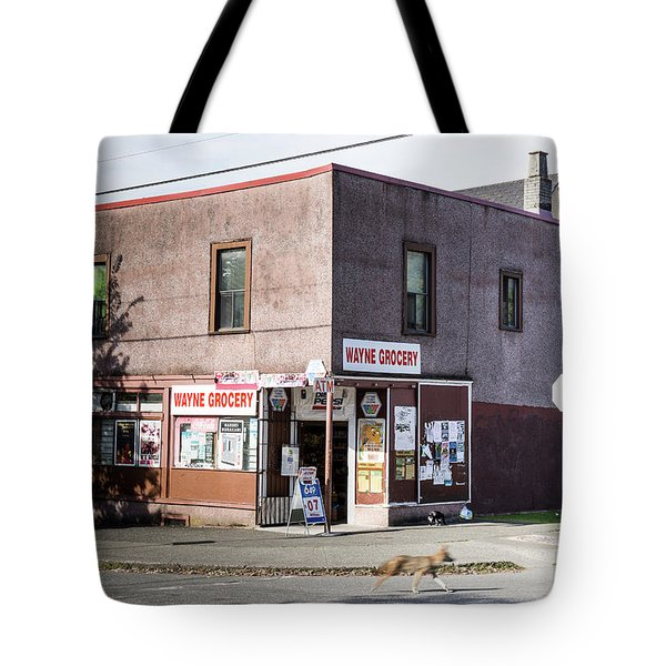 Tote Bag featuring the photograph Wayne Grocery by Juan Contreras