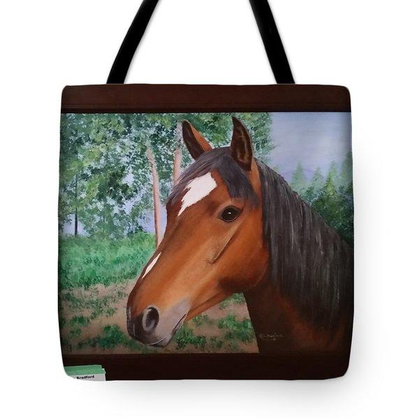 Wayne's Horse Tote Bag