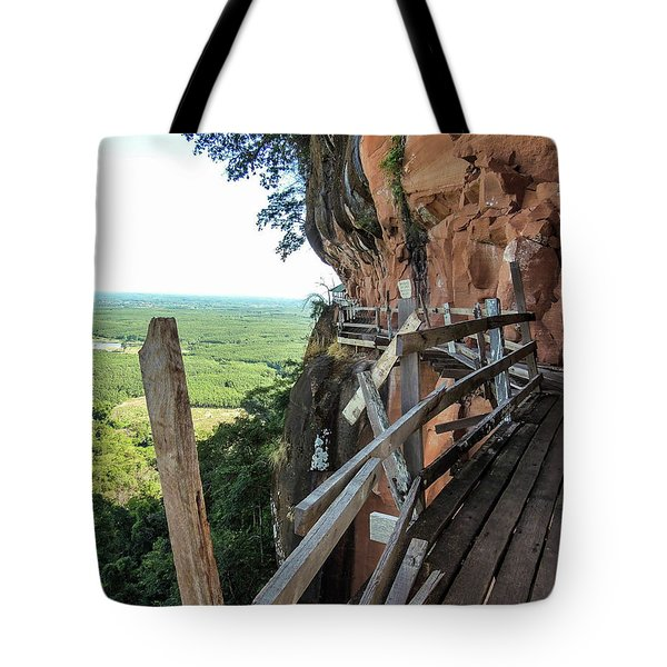 We Take Our Guests Here If They Are Brave Enough Tote Bag