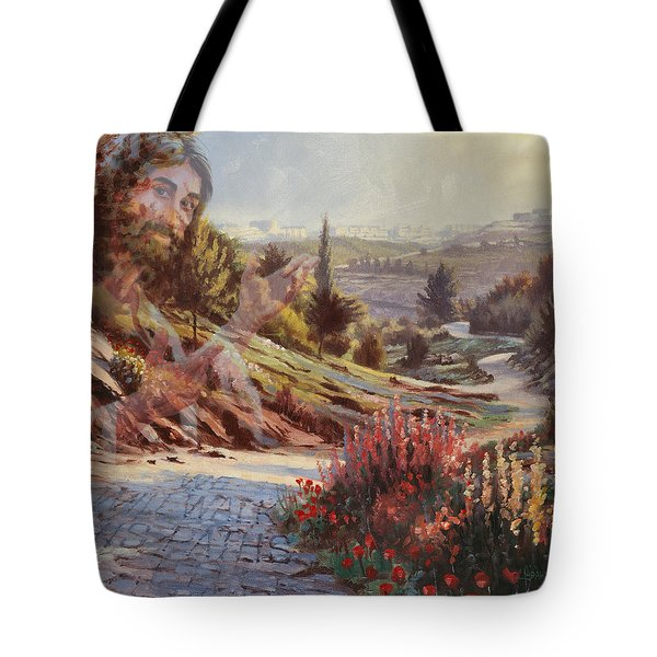 We Will Walk In His Paths 2 Tote Bag
