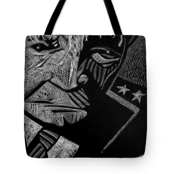 Weary Warrior. Tote Bag