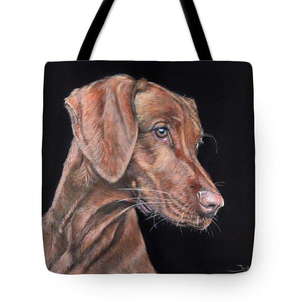 Weimaraner Portrait Tote Bag