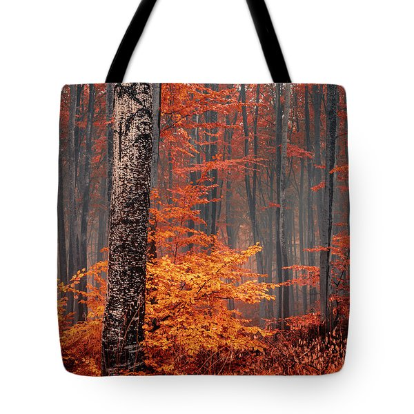 Welcome To Orange Forest Tote Bag