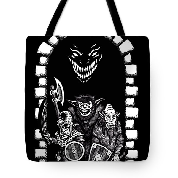 Welcome To The Dungeon Tote Bag