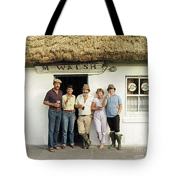 Tote Bag featuring the photograph Well Worth The Drive Accros Lough Mask  by Val Byrne