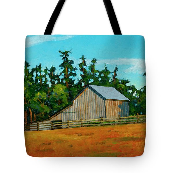 West Beach Barn Tote Bag