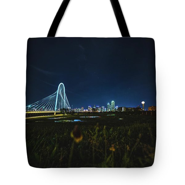 West Dallas Flower Tote Bag