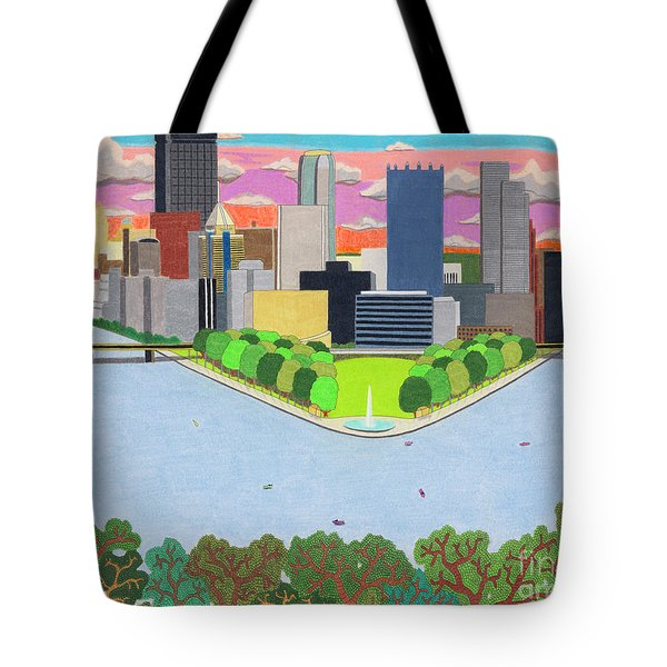 West End Overlook Tote Bag