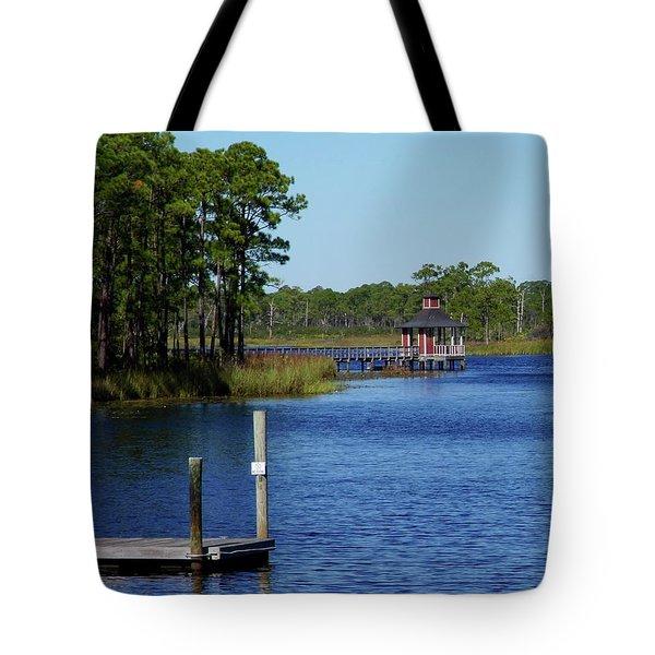 Western Lake Florida Tote Bag