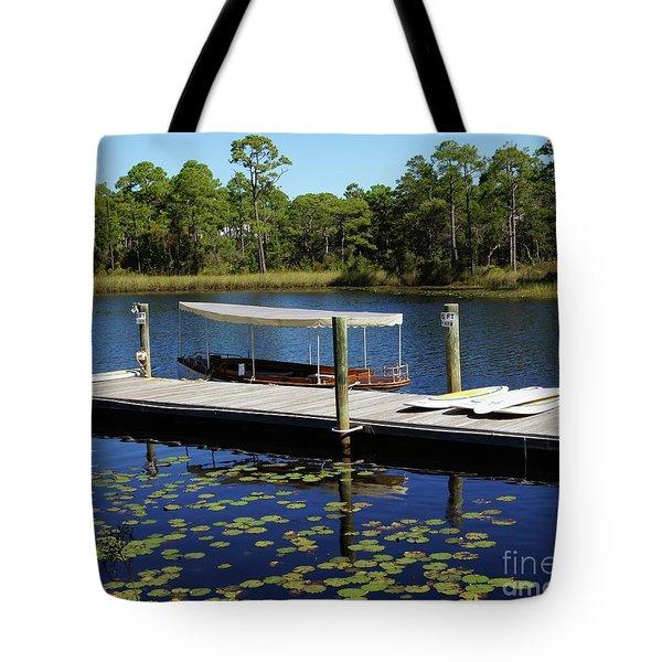 Western Lake Tote Bag