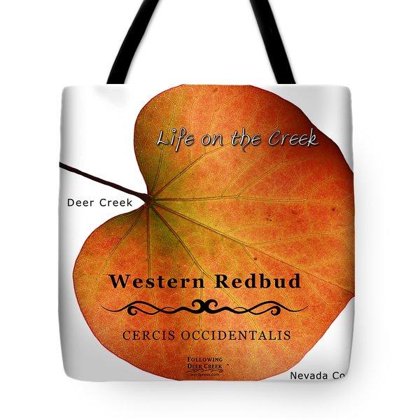 Western Redbud Tote Bag
