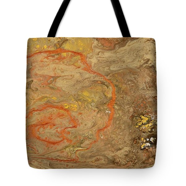 Wet Riverbed Tote Bag