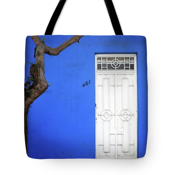 When A Tree Comes Knocking Tote Bag