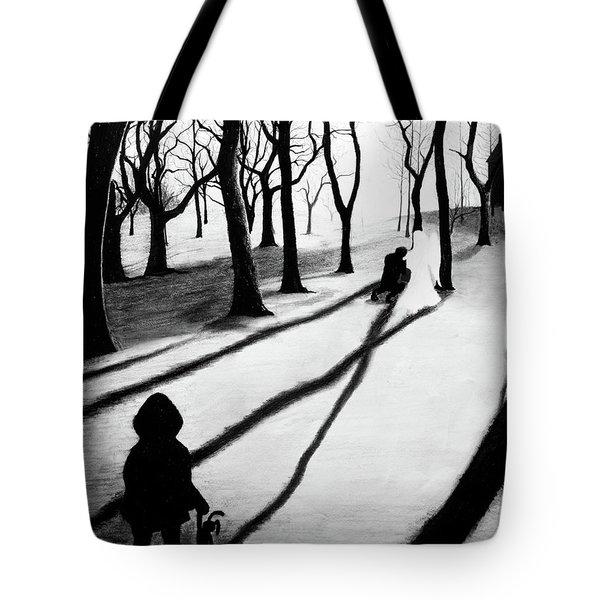 When She Returned... She Saw An Angel - Artwork Tote Bag