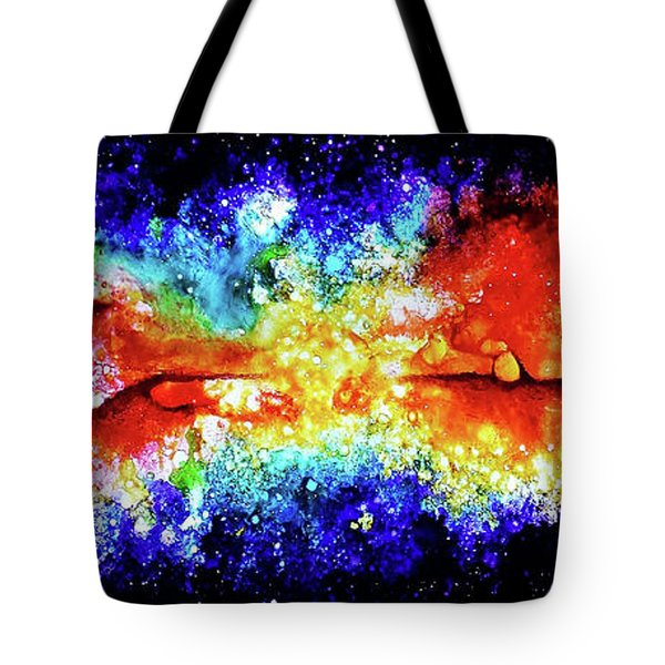 When Water Meets Fire Tote Bag