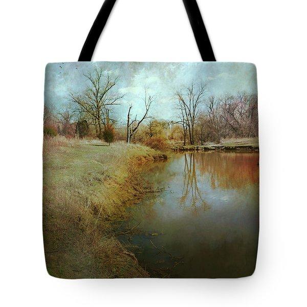Where Poets Dream Tote Bag