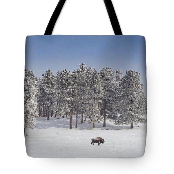 Where The Buffalo Roam  Tote Bag