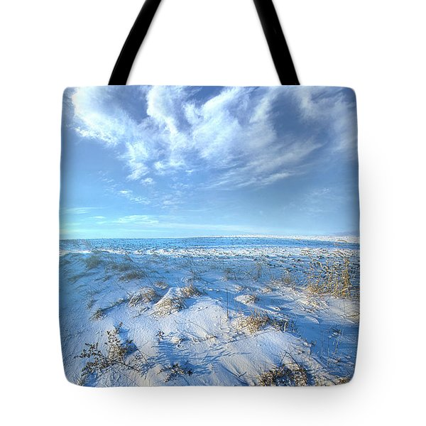 While Time Stands Still Tote Bag