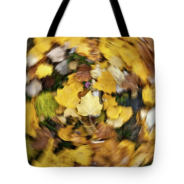 Whirlpool Of Autumn Tote Bag