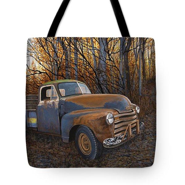 Whiskey Run Tote Bag