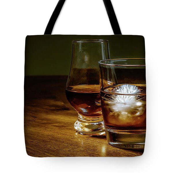 Whisky For Two Tote Bag