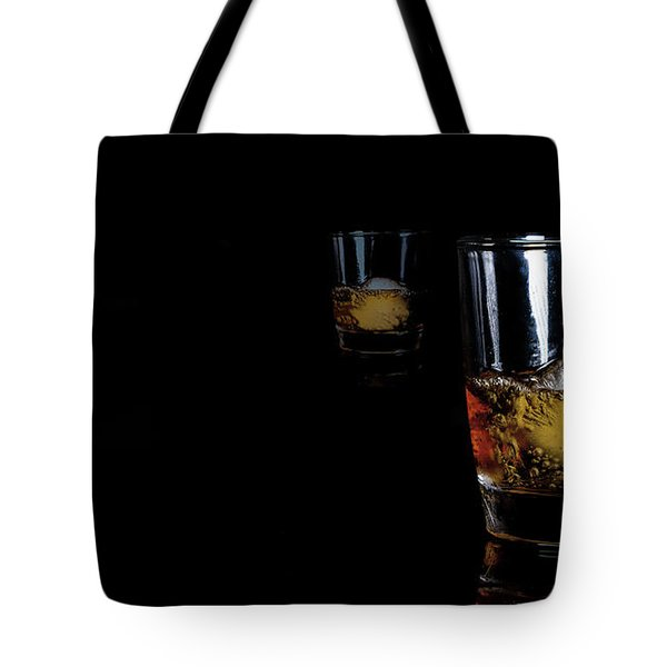Whisky On Ice For Two Tote Bag