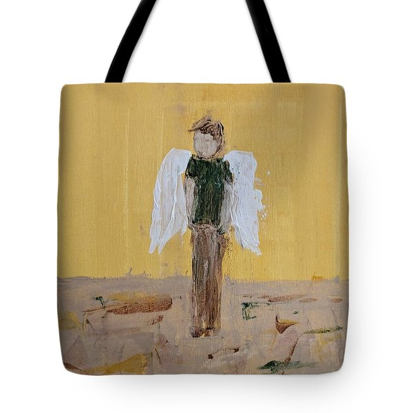Whistling Angel Tote Bag