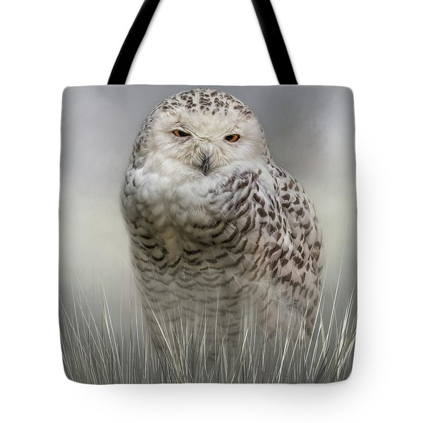 White Beauty In The Field Tote Bag
