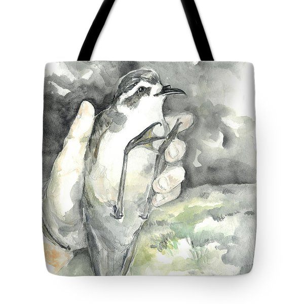 White-faced Storm-petrel Tote Bag