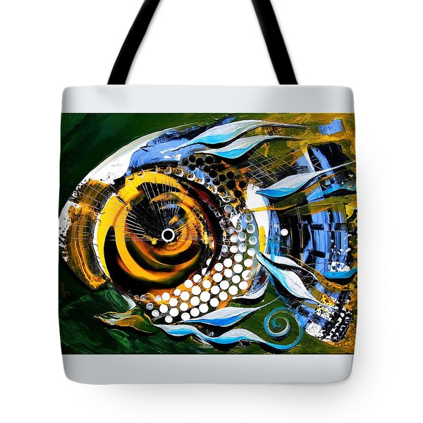 White-headed Mouth Fish Tote Bag