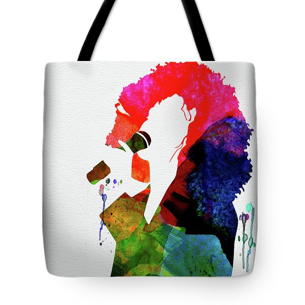 Whitney Watercolor Tote Bag