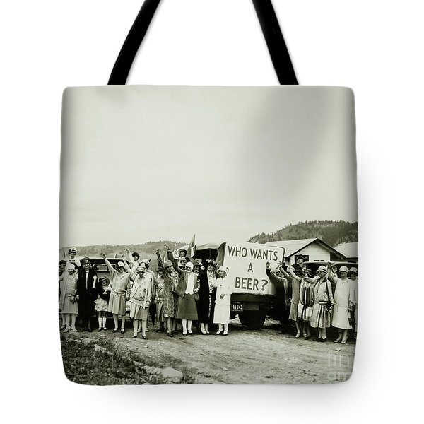 Who Wants A Beer Tote Bag