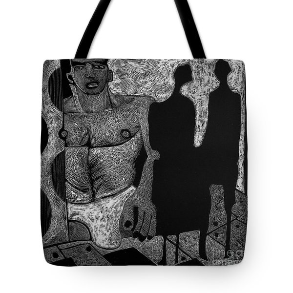 Viewing Madawask. Tote Bag
