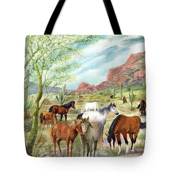 Wild And Free Forever Tote Bag