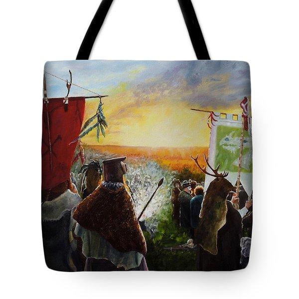 Wild Hunt Glastonbury Event Tote Bag