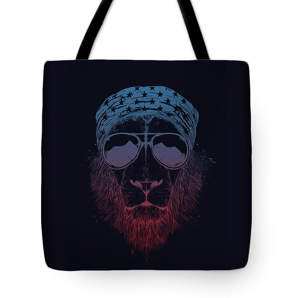 Wild Lion  Tote Bag