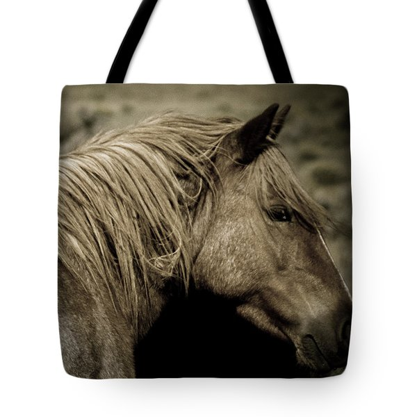 Wild Mustangs Of New Mexico 13  Tote Bag