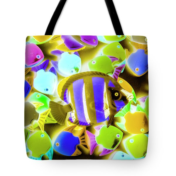 Wild Waters Tote Bag