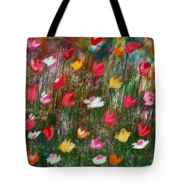 Wildest Flowers 3- Art By Linda Woods Tote Bag