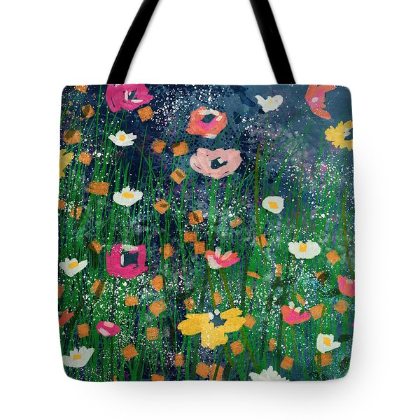 Wildflowers 2- Art By Linda Woods Tote Bag
