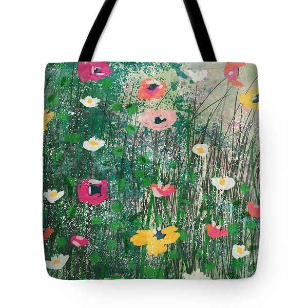 Wildflowers- Art By Linda Woods Tote Bag