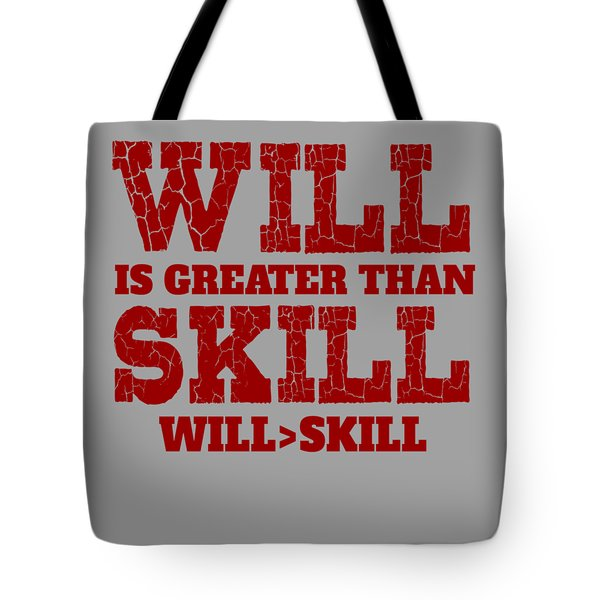 Will Skill Tote Bag
